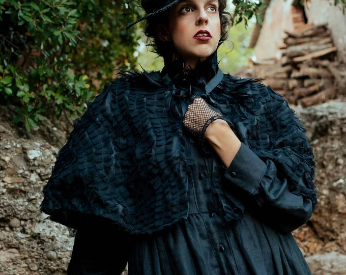 Decadent Victorian style Capelet