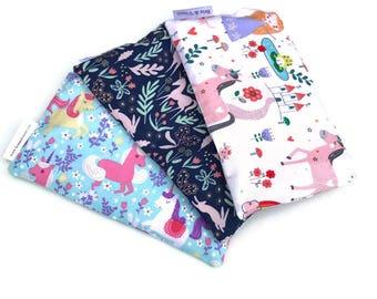 Unicorn Snack Bags - Snack Bag - Unicorn - Pink