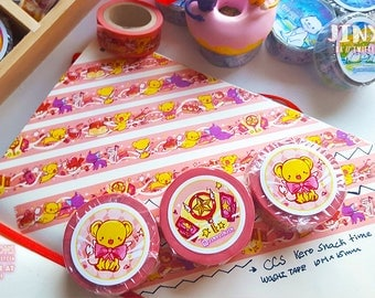 CCS Kero's Snack time Washi tape