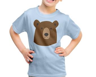 Kids t-shirt, Bear children's t-shirt for girl or boy
