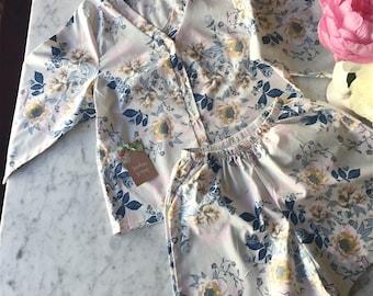 Bridesmaid Pajamas. Bridesmaid Boxers. Bridesmaids Pajama Set. Boxer Shorts. Kimono Robe.