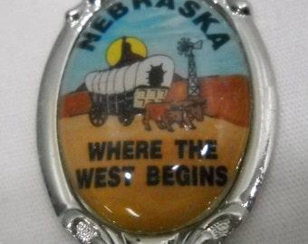 Nebraska Collectible Souvenir Spoon Free Shipping