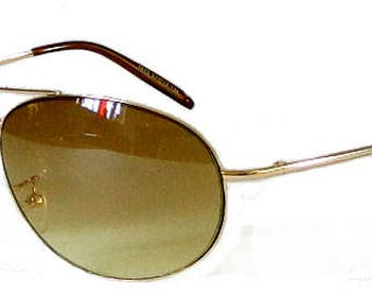 Vintage 1990's Wire Frame Aviator Sunglasses by Ray Ban