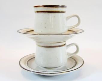 Vintage ESPRESSO Cups Saucers Demitasse TOSCANY Japan