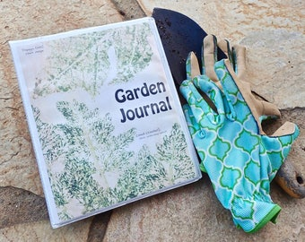 Garden journal Etsy