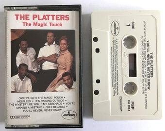 The Platters - The Magic Touch - vintage cassette tape - rhythm and blues - soul - rock and roll - doo-wop - 1988 - Free shipping Canada USA