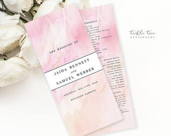 Semi Custom Wedding Stationery - Programs - Once Upon A Time (Style 13671)