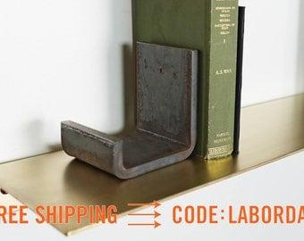 Flatform Steel Bookends