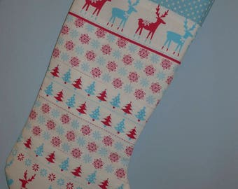 Scandi Christmas Stocking