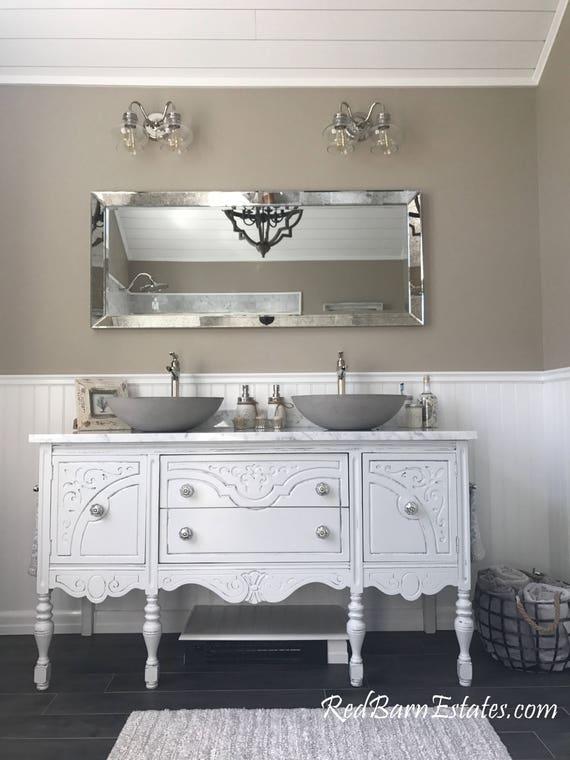 Bathroom Vanity Double Or Single We Custom Convert From