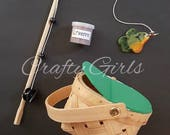 18 inch Doll Fishing Set