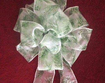 Green Bow / Christmas Bow