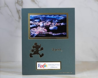 Vintage Disney Castmember Exclusive, 1998 Cast member Exclusive limited print, Disney Epcot Celebrating 15 Years of Discovery Epcot 4 Of 4