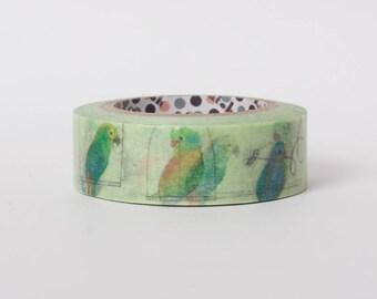 Japanese masking tape by Shinzi Katoh - Parakeet
