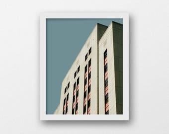 Minimalist architecture print | instant download | modern urban photography print | digital download | bright wall art | modern home decor