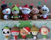 Christmas Sale!! Big Heads and Christmas Animals