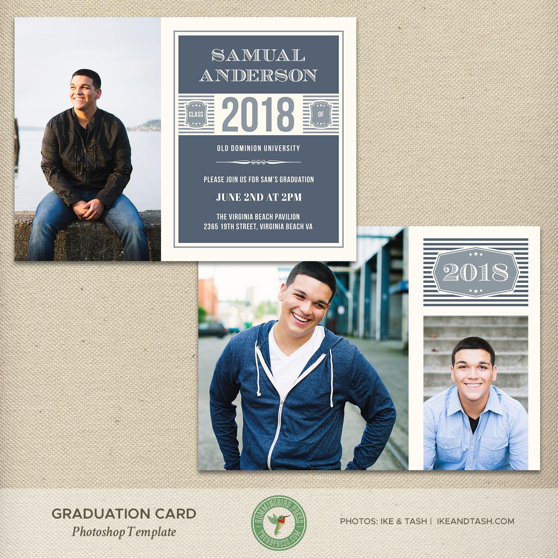 It is a photo of Enterprising College Graduation Announcements Templates