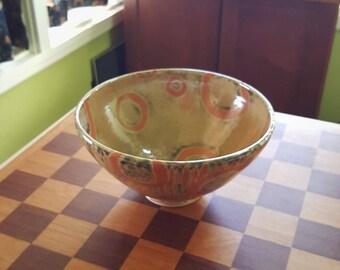 Glazed Ceramic Bowl