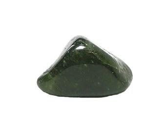 Idocrase Green Vesuvianite Tumble Polish Semiprecious Gemstone, DIY Jewelry Making Semi Precious Gem, Wire Wrap Jewel, Natural Stone