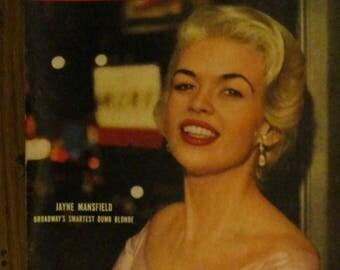 April 23, 1956 LIFE MAGAZINE Jayne Mansfield Kruschchev Stalin