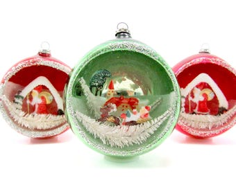 Vintage 1950s Christmas Decorations Etsy