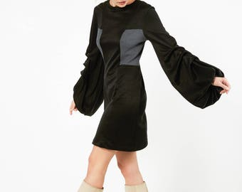 The Who bell sleeve dress