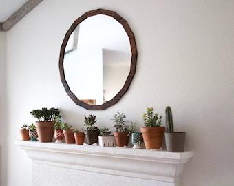 Bathroom Mirror Rustic rustic mirror   etsy