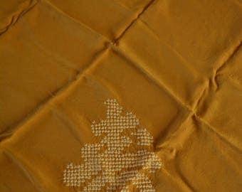Shibori silk wrapping cloth, Japanese furoshiki, eco gift wrapping cloth