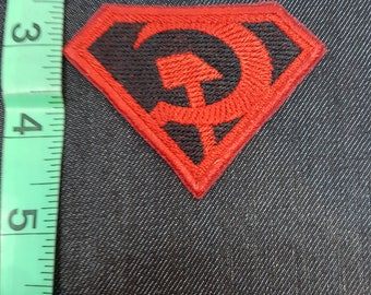 DC Superman Red Son Iron/Sew on Patch