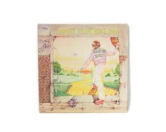 1973 Elton John Good-bye Yellow Brick Road Double Vinyl Gatefold Record Album MCA2-10003