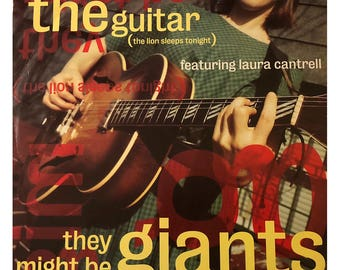 """Promo Vinyl: They Might Be Giants 12"""" Single with Four Songs"""