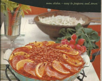 Vintage 1958 Good Housekeeping's Casserole Book