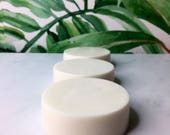 COCOMANGO: Natural + Vegan Soap with fresh Coconut and Tropical Mango + Coconut Milk Powder