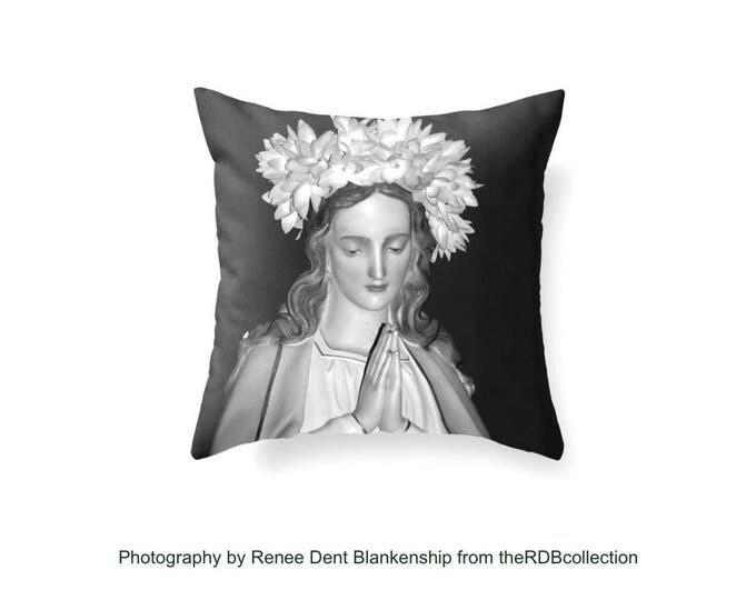 Ave Maria Pillow