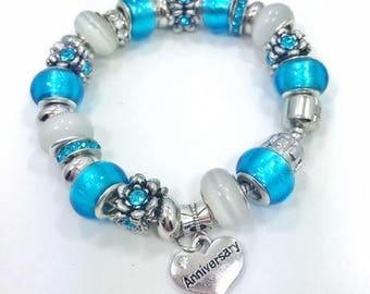 Anniversary Charm Bracelet