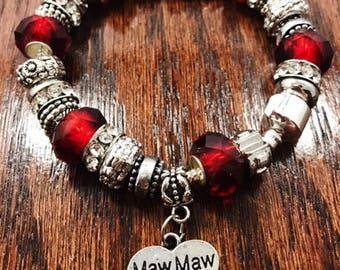 Maw Maw Charm Bracelet