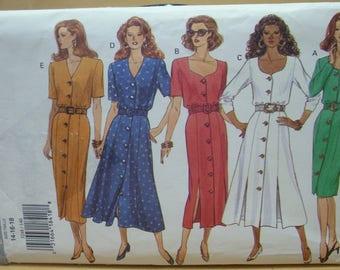 Free shipping! Butterick 3248 Button down dress 14 16 18 UNCUT sewing pattern