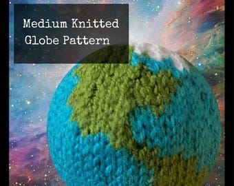 Medium Knitted Globe Pattern (PDF)