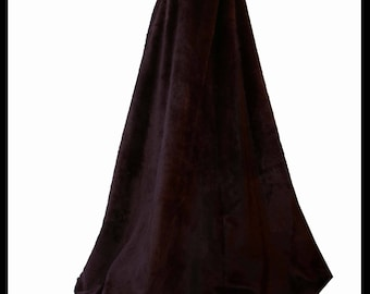 Beautiful Faux Fur Cloak lined with Satin. Ideal for a Winter Wedding, Hand Fasting or Lapland Wedding. Made to Measure! Many Colours! New!