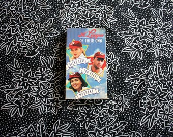 A League Of Their Own VHS Tape. Classic Female Baseball Team Movie With Tom Hanks, Geena Davis And Madonna. 90s Movie Night