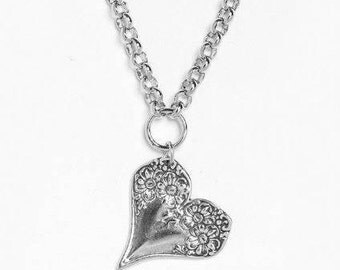 """Spoon Necklace: """"Florentine"""" by Silver Spoon Jewelry"""