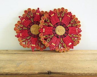 Pair of Woven Trivets