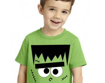 Frankenstein Shirt Boys Halloween Munster T-shirt Sons Version of  - Matching Father Son Dad Shirt Available LIMITED edition