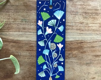 Hand painted bookmark 6