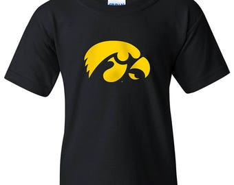 Iowa Hawkeyes Primary Logo YOUTH T-Shirt