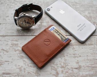 minimalist wallet, minimalist leather wallet, wallet, slim wallet, card wallet, leather wallet, boyfriend gift, front pocket wallet