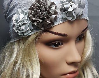 Head Scarf, Floral Bandana, Women Head Warp, Cancer Scarves, Chemo Headwear, Head Covering, Ticehl, Snood, Headcovering, Headscarf