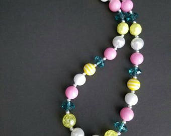 Tropical Fish Mini Chunky Necklace