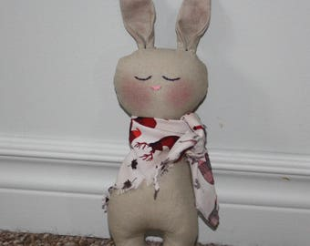 Easter Bunny, Easter Rabbit, Bunny rabbit, Easter, Waldorf inspired, Waldorf, Easter basket, Softie, Plush