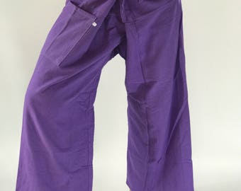 FP0089 Lavender Thai fisherman/Yoga are pants Free-size: Will fit men or woman